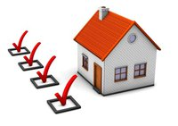 House with checkboxes